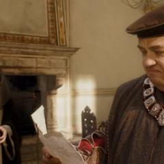 安东尼奥和乌贝托(在读信)