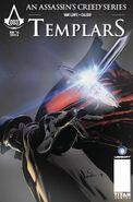 Templars 3 Cover A Dennis Calero