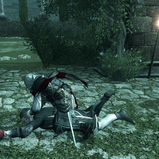 Ezio achevant Jacopo