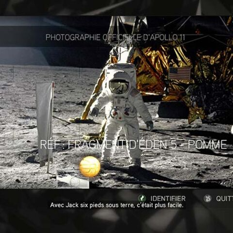 Photographie officielle d'Apollo 11