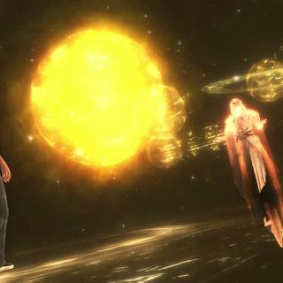 Jupiter met Desmond in de Synch Nexus.
