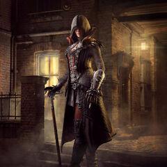 维多利亚传奇包中的伊薇身着套装