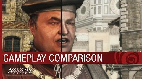 Assassin's Creed The Ezio Collection Gameplay Comparison US