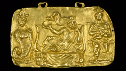 DTAE Pendant with Serapis, Isis and Harpocrates