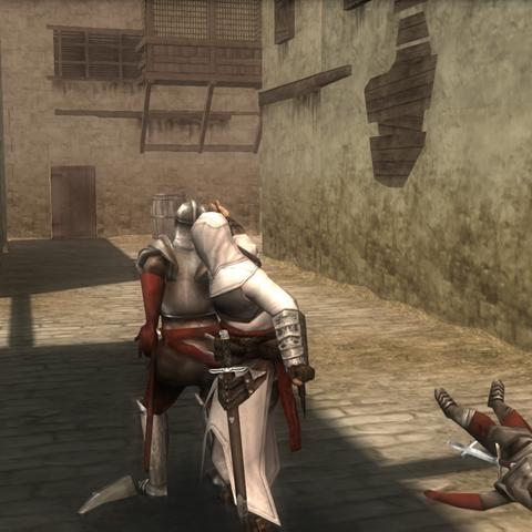 阿泰尔刺杀一名哨兵