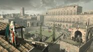 Palazzo Pitti veduta Ezio