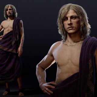 阿爾西比亞狄斯的人物模型