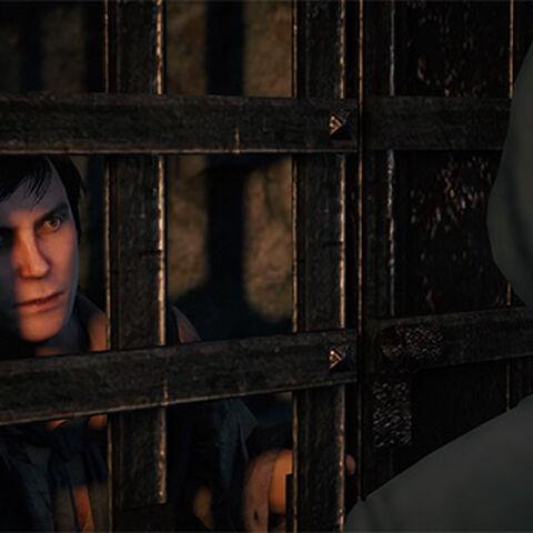 <b>Vidocq</b> enfermé en prison