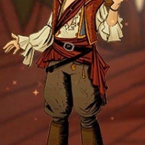 Rackham zoals hij verschijnt in Assassin's Creed: Pirates.