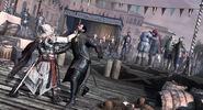 Ezio et Dante au corp à corp