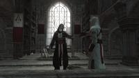 Powierzenie miecza Altaïrowi