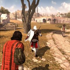 埃齐奥带着哥白尼去安全的地方