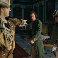 Robespierre accusant <b>Paton</b> de haute trahison