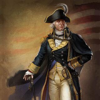 乔治·华盛顿的概念艺术图