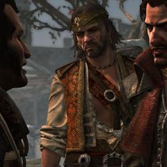 维恩、拉克姆与本杰明·霍尼戈尔德争吵