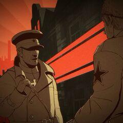 雅科夫·尤羅夫斯基<br />蘇維埃军官