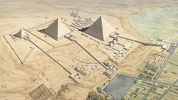 DTAE Pyramids of Gizeh - Jean Claude Golvin