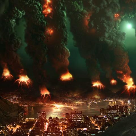 朱诺所预见的一座处在第二次灾难中的人类城市