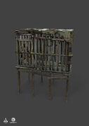AC4 Prisoner's Cage - Concept Art