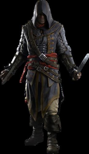 "Adéwalé w <a href=""/wiki/Assassin%27s_Creed:_Rogue"" title=""Assassin's Creed: Rogue"">Assassin's Creed: Rogue</a>"