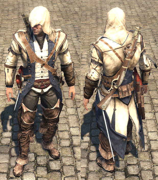 Ratonhnhake Ton S Robes Assassin S Creed Wiki Fandom
