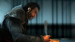 Ezio scrive a Claudia