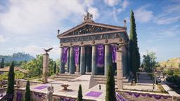 ACOD Temple de Zeus Olympie