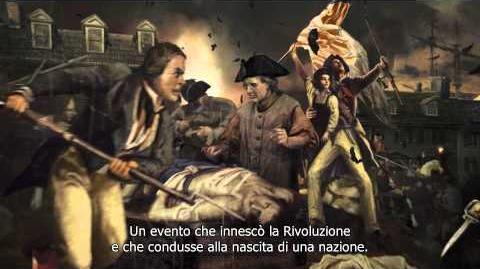 Assassin's Creed III - Trailer ufficiale del Boston Tea Party IT