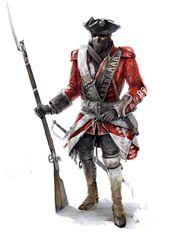 British soldier concept illustration