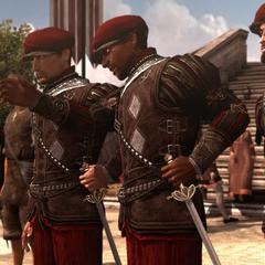 Les gardes venant interrompre Copernic