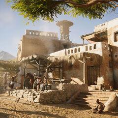 Village égyptien
