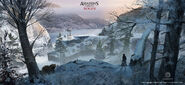 ACRogue Shay forte River Valley concept art