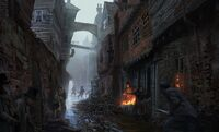 ACS London Slums - Concept Art