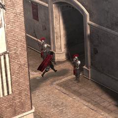 切萨雷离开城堡
