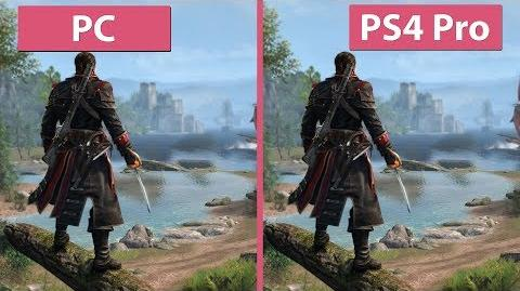 -4K- Assassin's Creed Rogue – Original PC vs