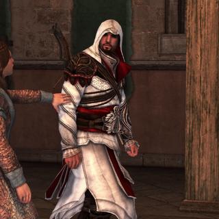 Pantasilea révélant la véritable situation à Ezio