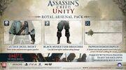 Assassin's Creed Unity Royal Arsenal Pack