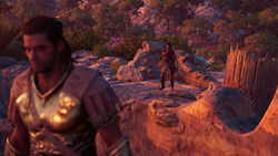 Memories Awoken - Deimos shuns Kassandra - Assassins Creed Odyssey
