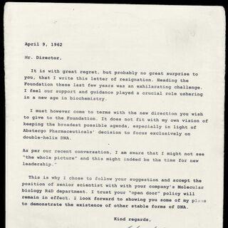 罗森堡的第三封信