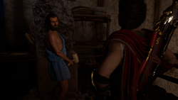 Escape from Athens - Assassins Creed Odyssey
