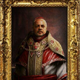 Portrait de <b>Rodrigo Borgia</b> dans les fichiers d'Abstergo Entertainment