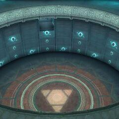 西斯廷礼拜堂里的密室入口