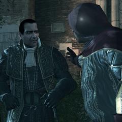 Dante et Silvio tentant de fuir le port