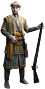 ACR Ottoman Gunman render