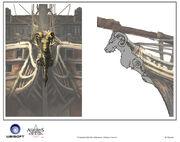 Assassin's Creed IV Black Flag -Ship-Jackdaw - Figurehead 1 by max qin
