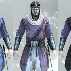 The Vizier's colors