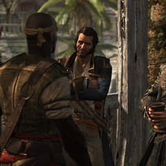 在海盗们中间的霍尼戈尔德