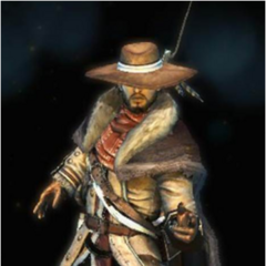 The Sharpshooter's Minuteman costume