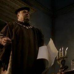 <b>Uberto</b> complotant à l'insu de Giovanni et Lorenzo de' Medici