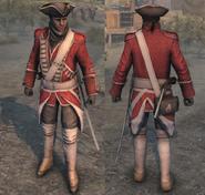 AC3 Uniforme da giubba rossa